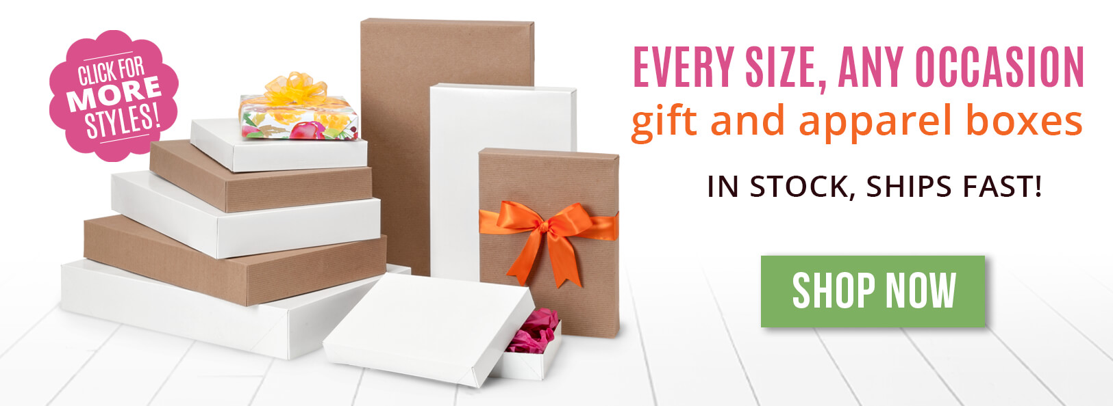 Apparel & Gift Boxes from Nashville Wraps