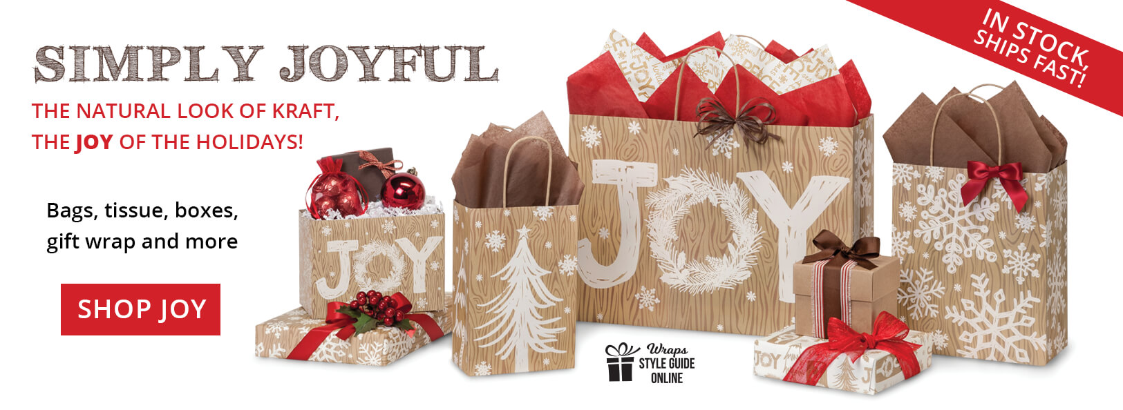 Rustic Joy Packaging from Nashville Wraps