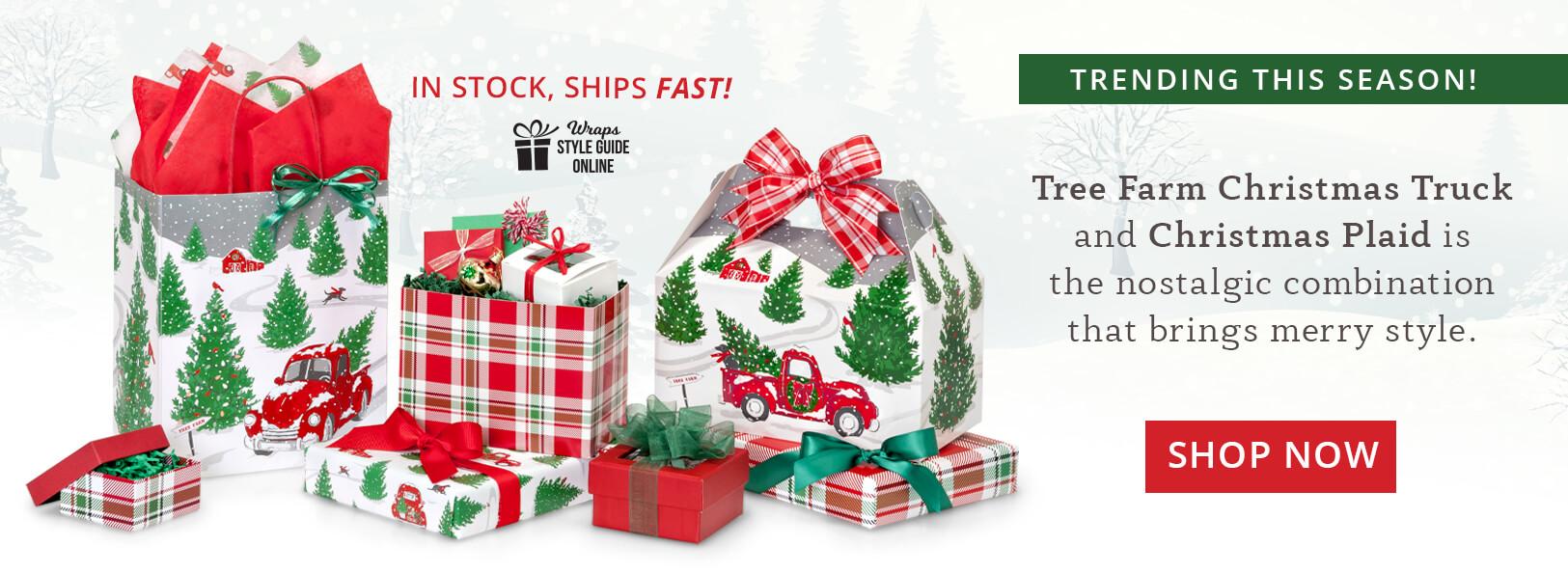 Christmas Tree Farm Truck from Nashville Wraps