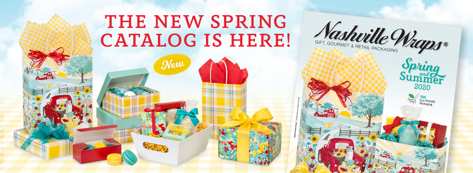 The NEW Spring/Summer Catalog is here! - SHOP NOW