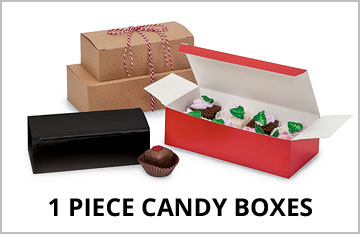 1-Piece Candy Boxes on Special!