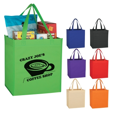 Custom Printed Non-Woven Shopping Tote Bags