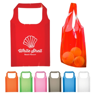 Custom Printed Expression Translucent Tote Bags