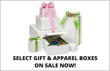 Select Apparel & Gift Boxes on Special!
