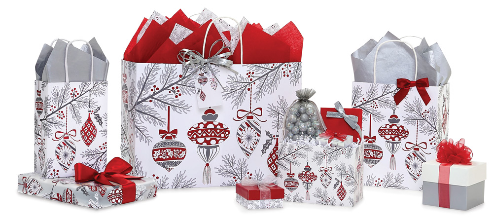 Heirloom Ornaments Paper Shopping Bags