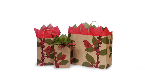 Christmas Paper Shopping Bags