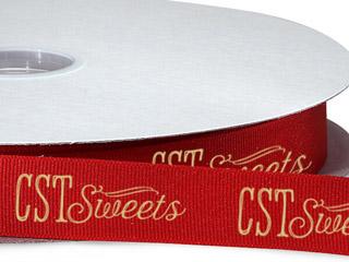 Custom Printed Berwick Grosgrain Ribbon