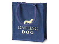Custom Printed Colored Burlap Tote Bags