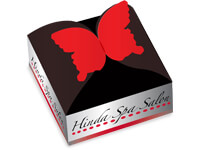 Custom Small Quantity Butterfly Boxes