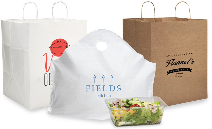 Custom Printed Carry Out Bags