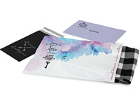 Custom Ink Printed Poly Mailers