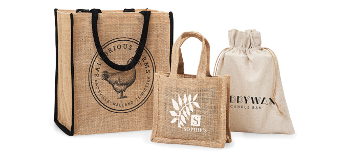 Custom Printed Reusable Bags