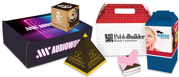 Custom printed small quantity boxes from Nashville Wraps