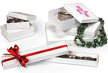 Custom Print Your White Jewelry Boxes