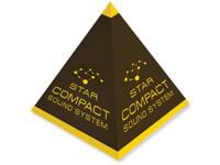 Custom Small Quantity Full-Color Pyramid Boxes