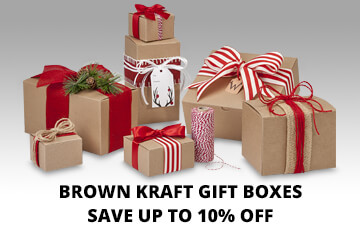 Kraft Gift Boxes on Special!