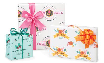 Digitally Printed Gift Wrap