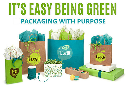 Eco-friendly Green Way Packaging
