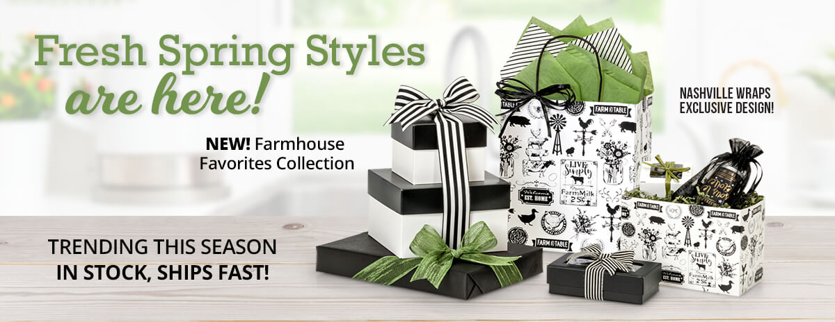 Farmhouse Packaging from Nashville Wraps