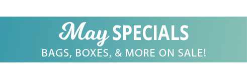 Click here to shop our May Specials Now!