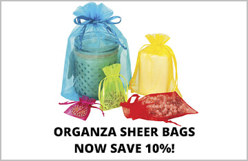 Organza Sheer Bags on Special!