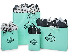 Custom Print Your Paper Shopping Bags