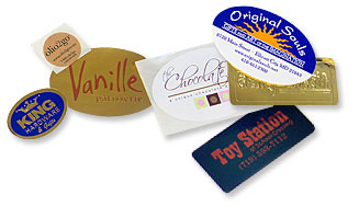 Custom printed labels from Nashville Wraps