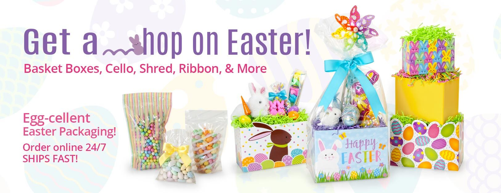 Easter Basket Packaging from Nashville Wraps