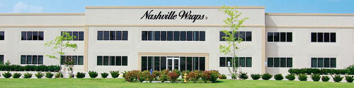The Nashville Wraps building in Hendersonville, TN