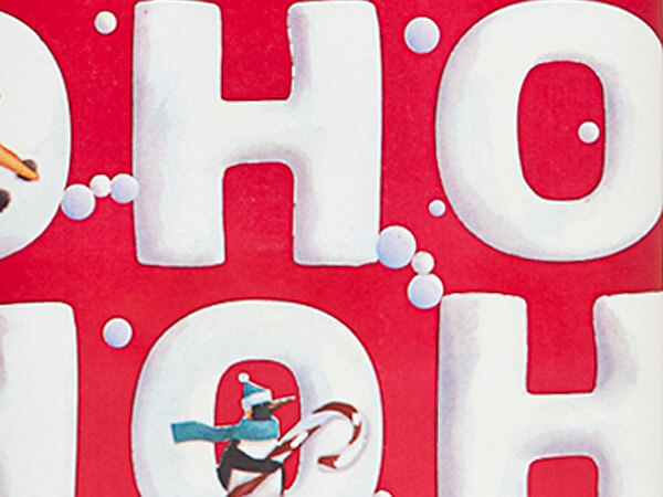 """Ho Ho Snowman Wrapping Paper 24""""x417' Counter Roll"""