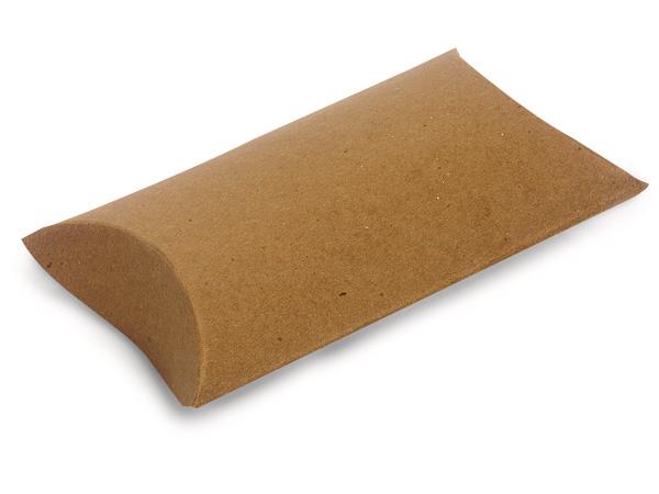 """Kraft Pillow Favor Boxes, Medium 5x4x1.5"""", 12 Pack"""