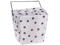 Paw Print Take Out Boxes