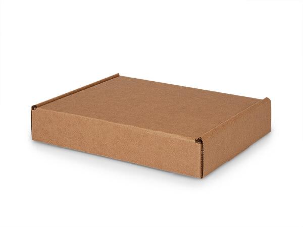 "Brown Kraft Tab Lock Mailer Boxes, 11x9x2"", 50 Pack"