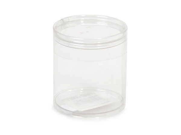 "Clear Tube Favor Boxes, 2x2"", 6 Pack"