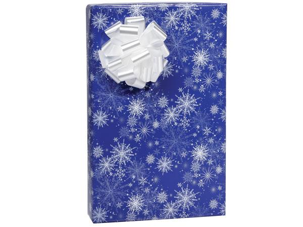 """Snowy Night 24""""x 85' Roll Gift Wrap"""