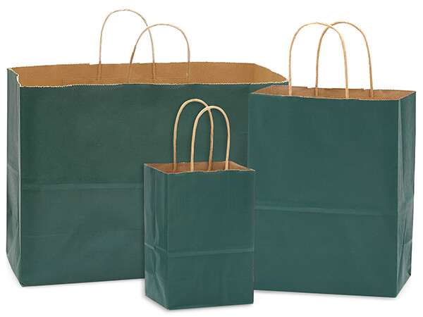 Hunter Green 100% Recycled Kraft Bag Assortment 125 Pack