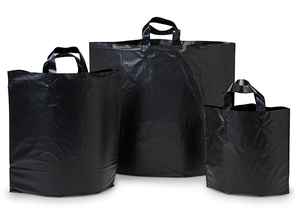 Black Studio Plastic Bag Assortment 50 each Piccolo, Mezzo, Colossal