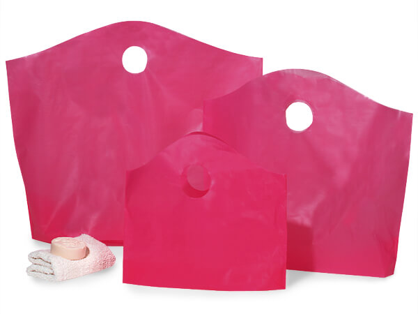 Blazing Pink Wave Top Assortment 50 Small, 50 Med & 25 Large Bags