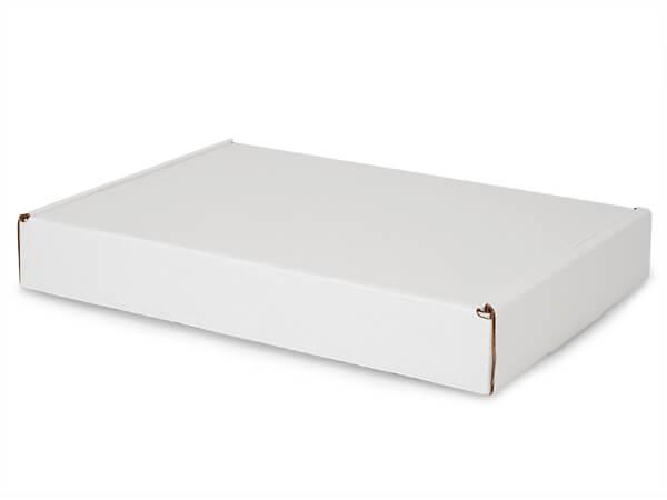 """White Kraft Tab Lock Mailer Boxes, 14x10x2"""", 50 Pack"""
