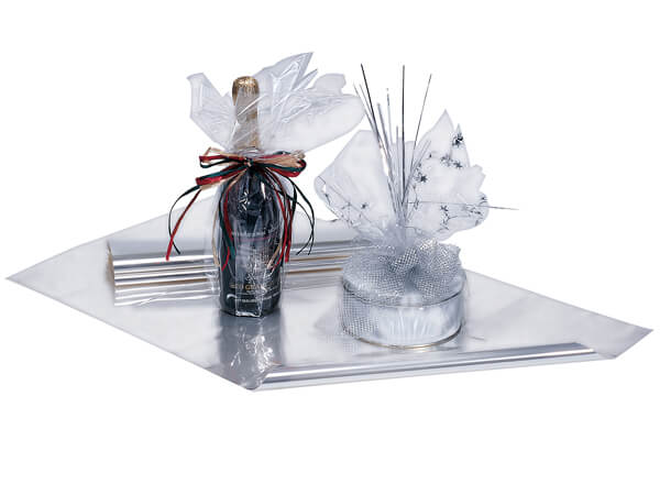 """Clear Cellophane Sheets, 14x14"""", 1000 Sheets"""