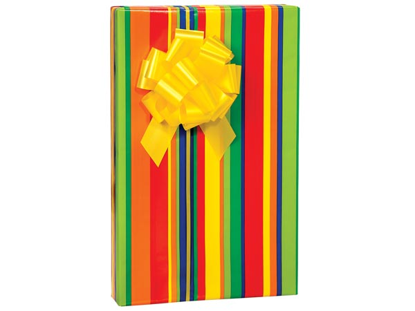 """Stripes Galore 24""""x417' Gift Wrap Counter Roll"""