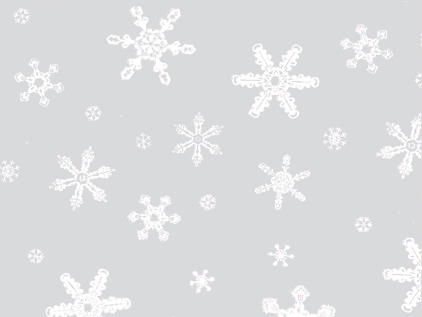 "Snowflakes Cello Sheets, 20x30"", 100 Pack"