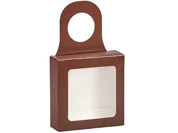 "Chocolate Wine Bottle Truffle Favor Box, 3.75x1.25x3.75"", 6 Pack"