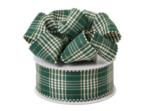 Wired Green Plaid