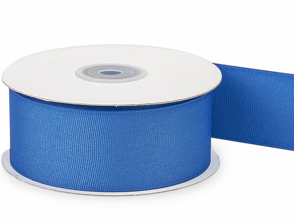 "*Royal Blue Grosgrain Ribbon 1-1/2""x25 yds 100% Polyester"