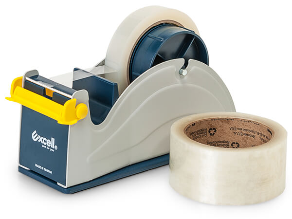 "Desktop Packing Tape Dispenser, 3"" Core Diameter"