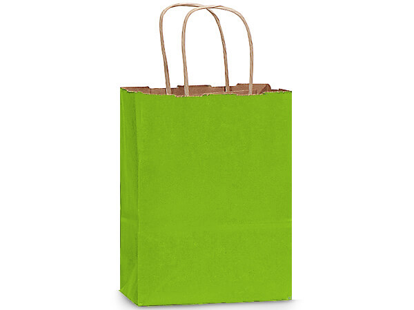 Cub Apple Green Recycled Kraft 25 Pk 8x4-3/4x10-1/2""