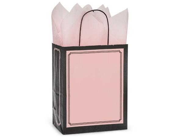 "Cub Pink & Black Duets Bags 25 Pk 8-1/4x4-3/4x10-1/2"""