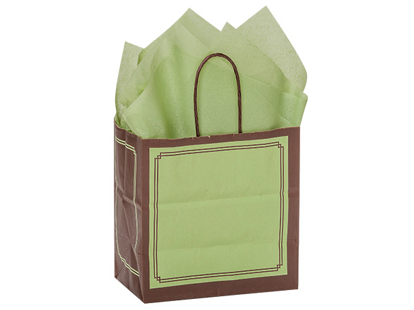 Junior Pistachio & Chocolate Duets Bags 25 Pk 8x5x8""