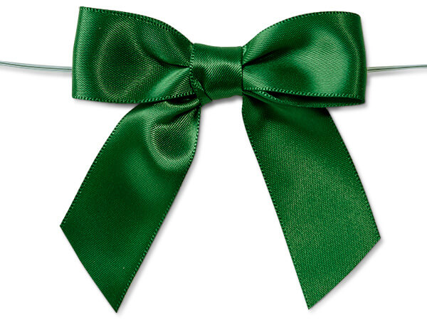 Hunter Pre-tied Satin Bow
